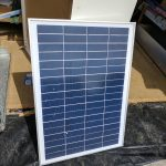 25W solar panel for testing